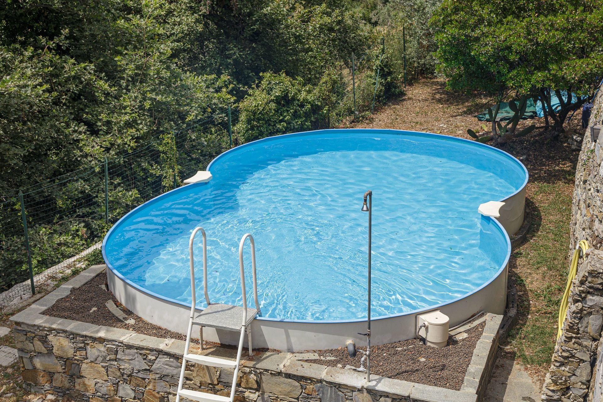 Acqua Azzurra Piscine casa vacanze a recco | villa pia con piscina a recco può